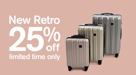Retro up to 25% off