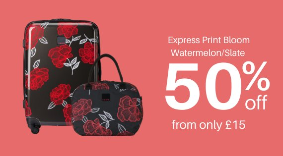 bloom print watermelon/slate 50% off