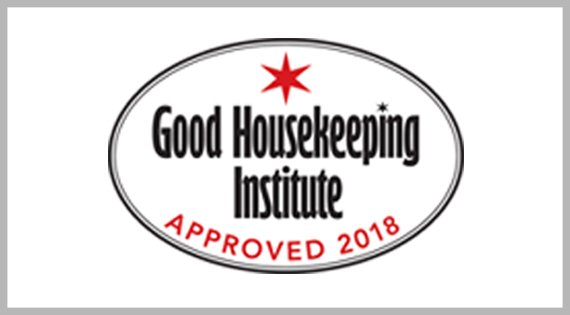 Good Housekeeping Institute Approved 2018