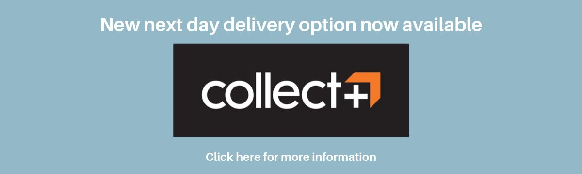New next day collext plus delivery option now available