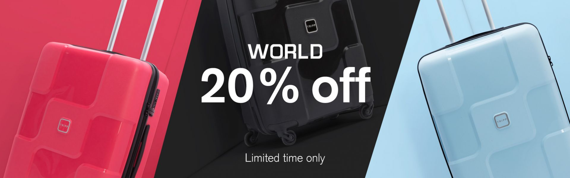 World 20% off