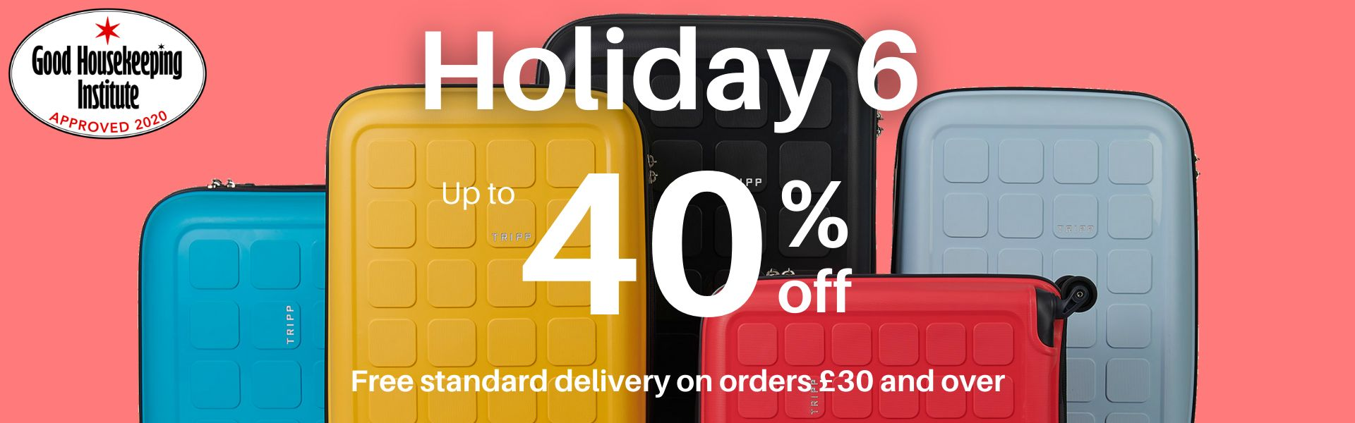 Up to 40% off Holiday 6