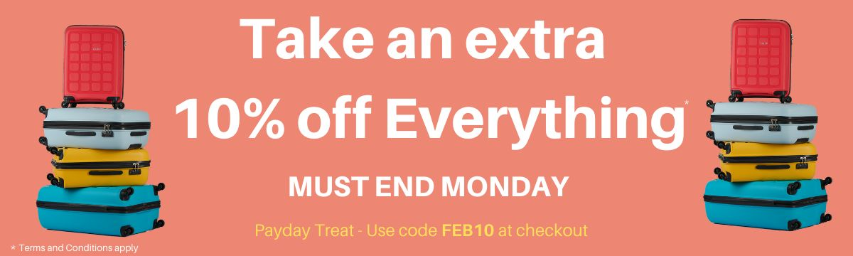 take an extra 10% off everything