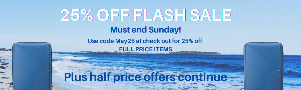 25% off flash sale