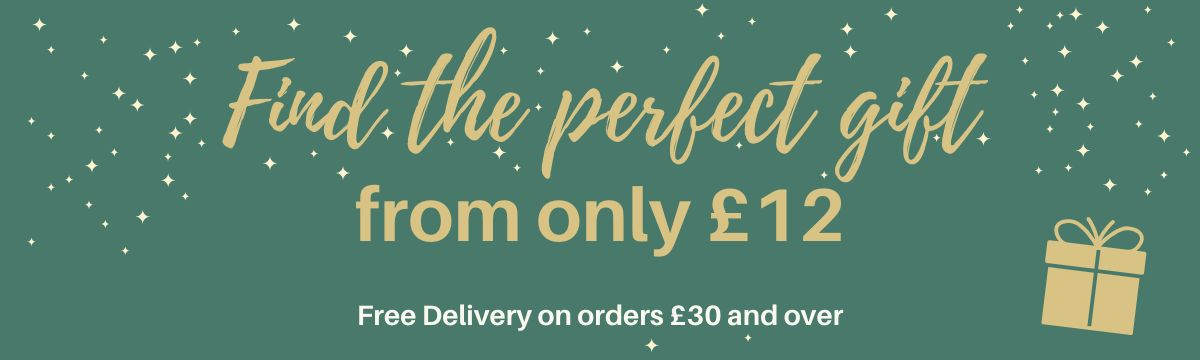 Perfect gifts from £12