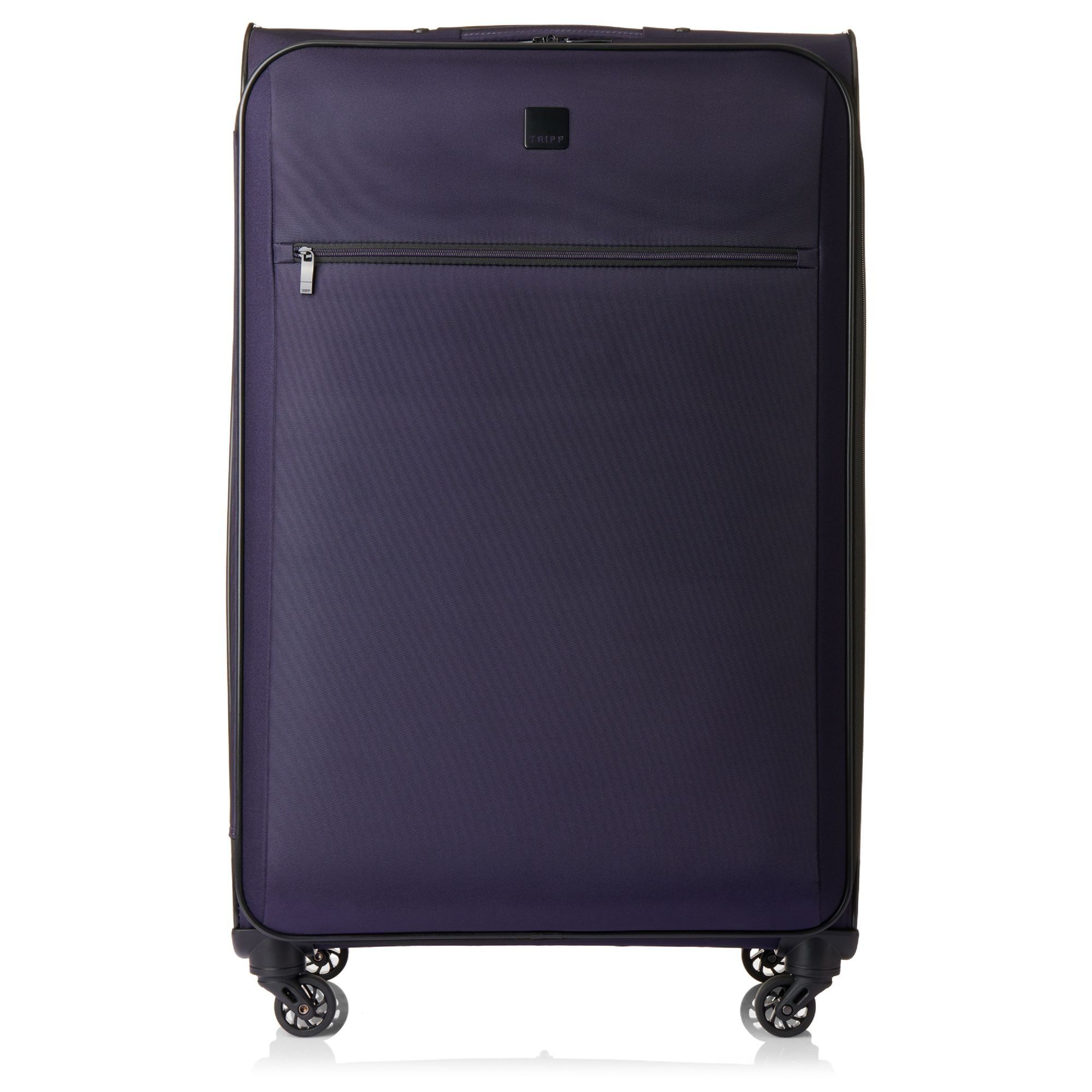 tripp grape 39 full circle 39 4 wheel large suitcase soft suitcases tripp ltd. Black Bedroom Furniture Sets. Home Design Ideas