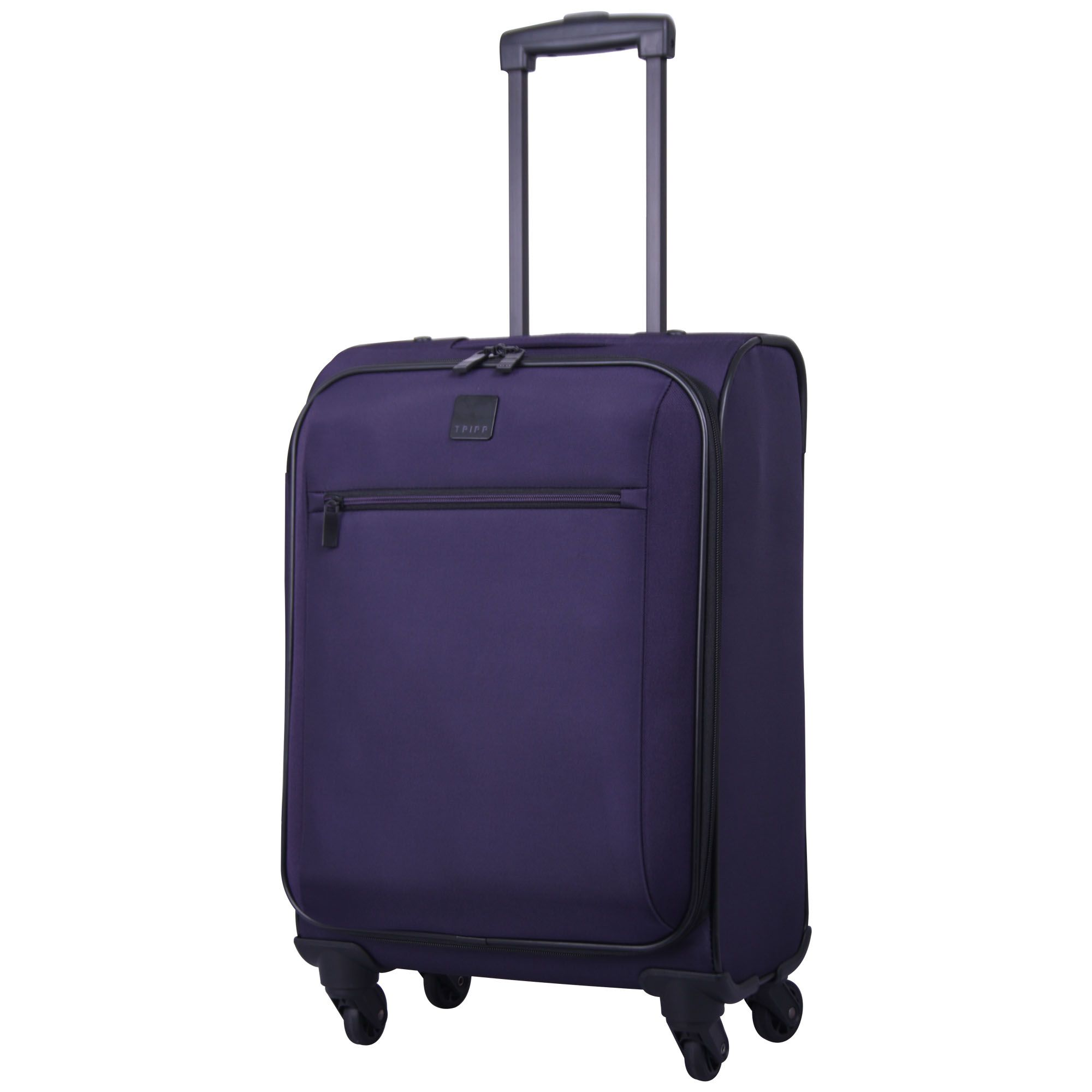 tripp grape 39 full circle 39 4 wheel cabin suitcase soft. Black Bedroom Furniture Sets. Home Design Ideas