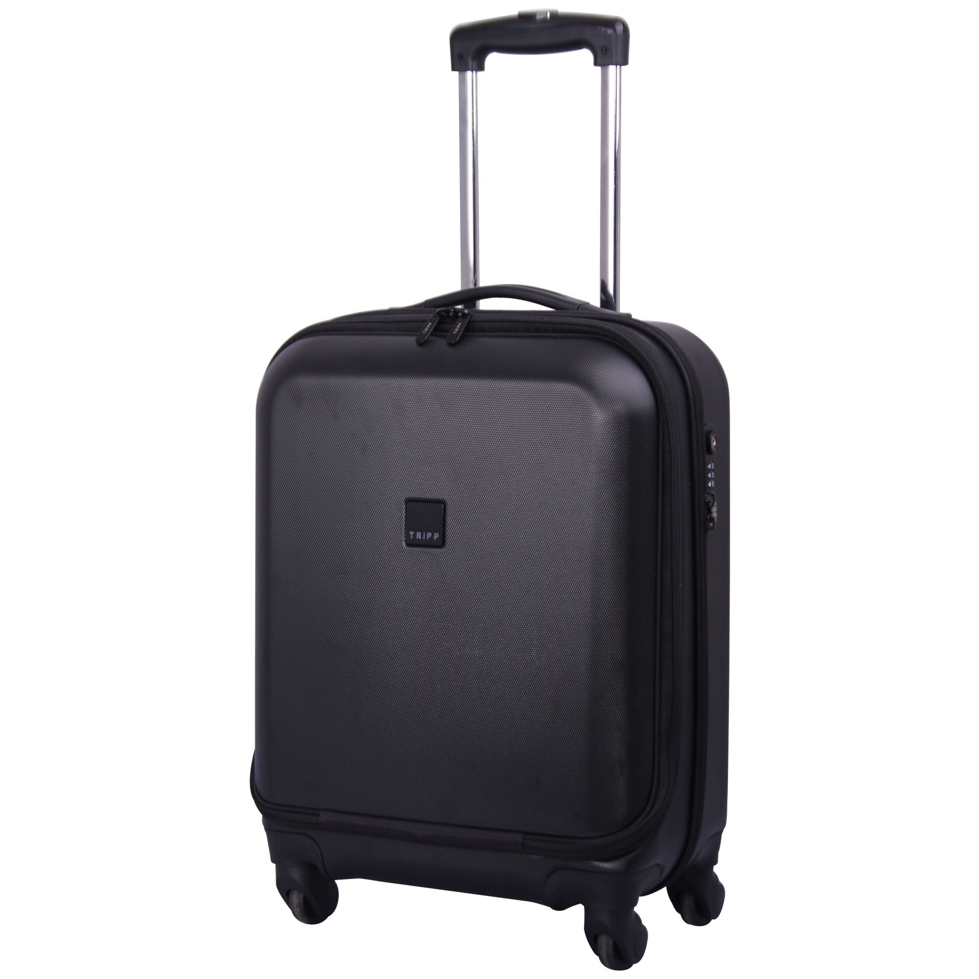 Tripp Black Lite 4 Wheel Dual Access Cabin Suitcase
