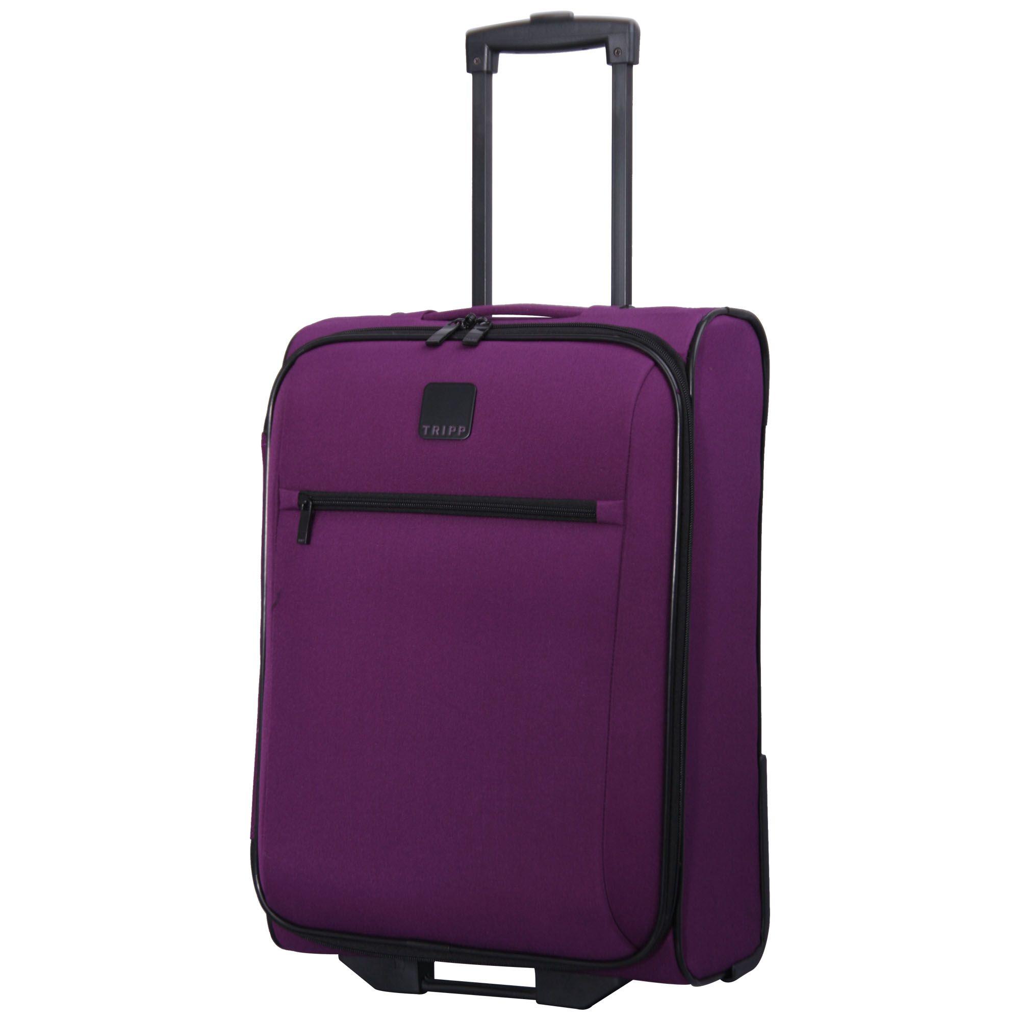 tripp mulberry 39 glide lite iii 39 2 wheel cabin suitcase. Black Bedroom Furniture Sets. Home Design Ideas