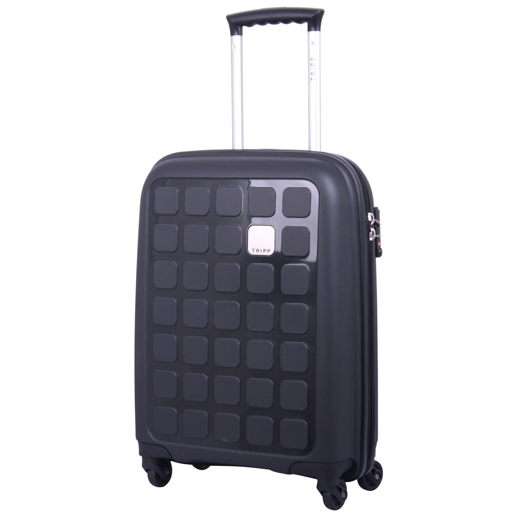 Tripp black II 'Holiday 5' cabin 4 wheel suitcase - Hard Suitcases ...