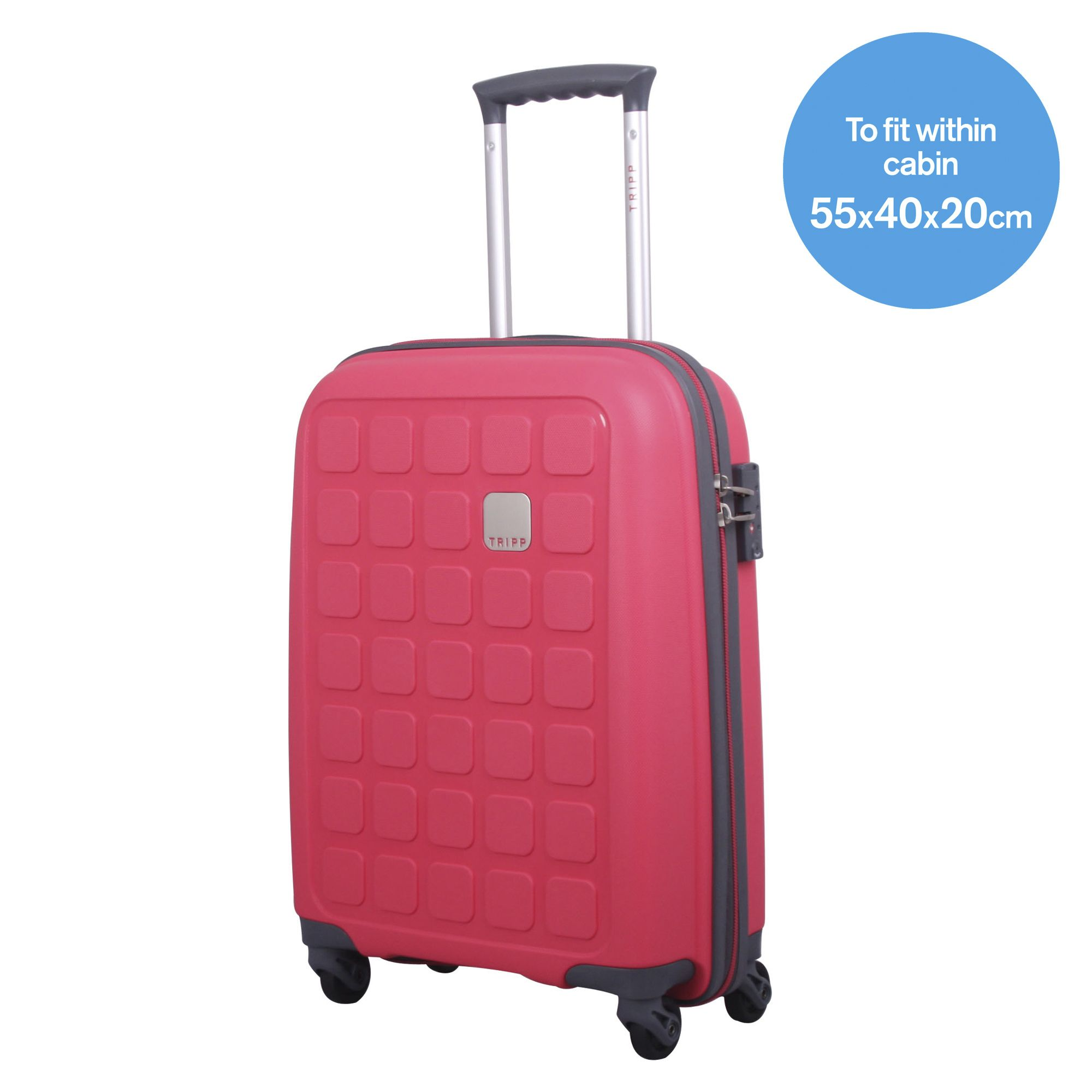 tripp watermelon ii 39 holiday 5 39 cabin 4 wheel suitcase hard shell suitcases tripp ltd. Black Bedroom Furniture Sets. Home Design Ideas