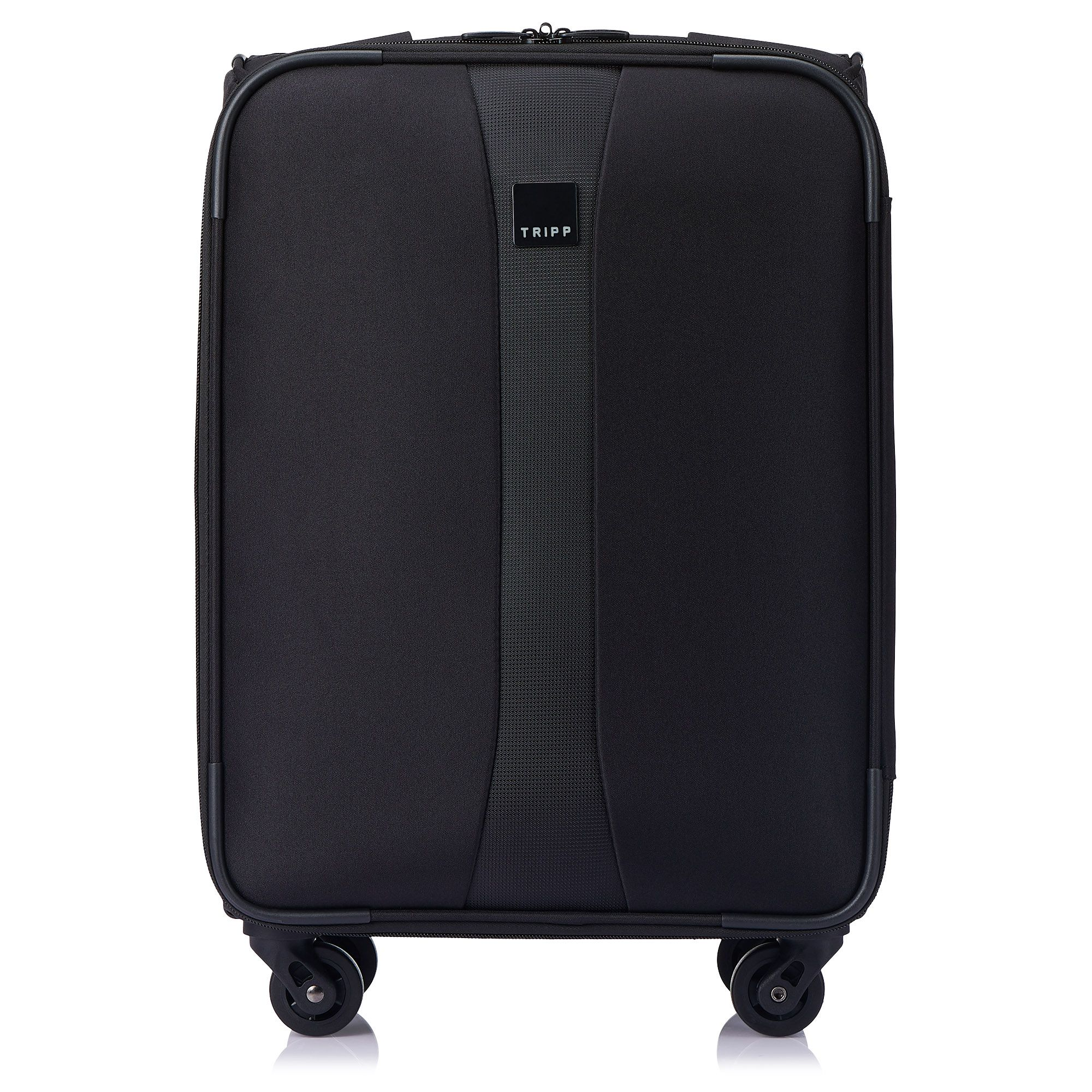 tripp black 39 superlite 4w 39 4 wheel cabin suitcase soft. Black Bedroom Furniture Sets. Home Design Ideas
