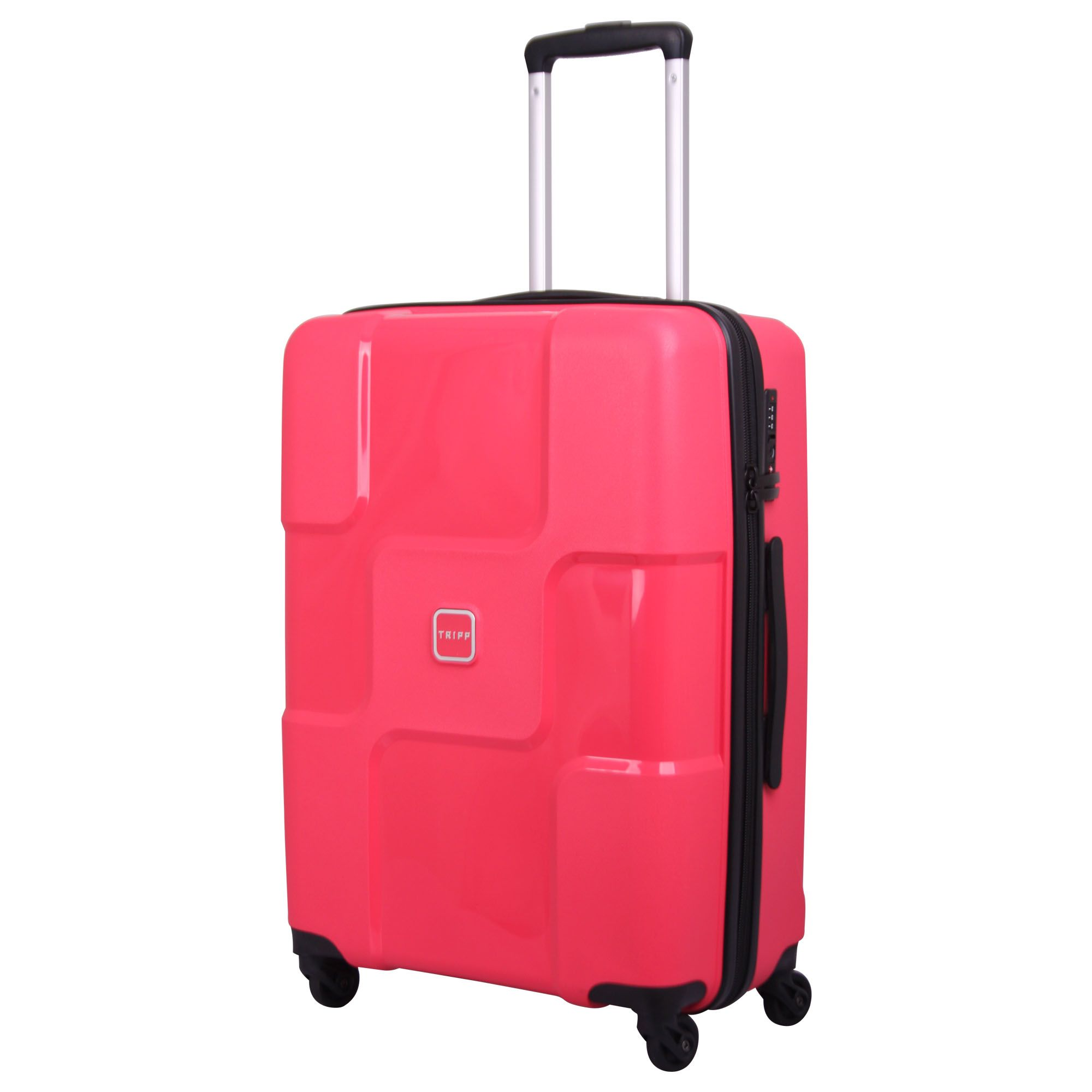 Tripp watermelon 'World' 4 wheel medium suitcase - Hard Suitcases ...