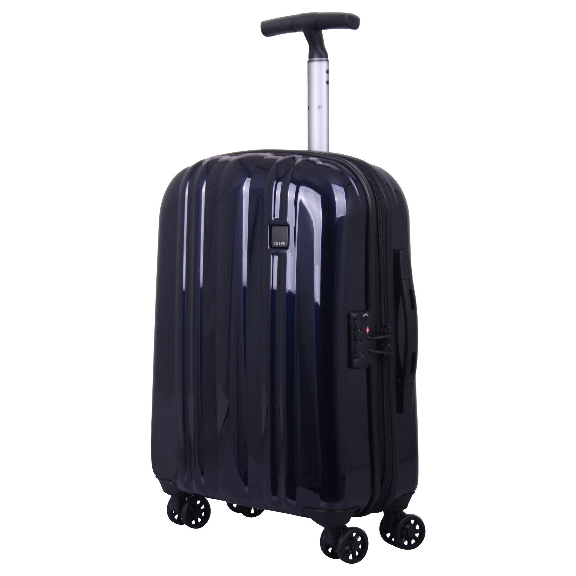 tripp ink blue 39 absolute lite zip 39 4w cabin suitcase. Black Bedroom Furniture Sets. Home Design Ideas
