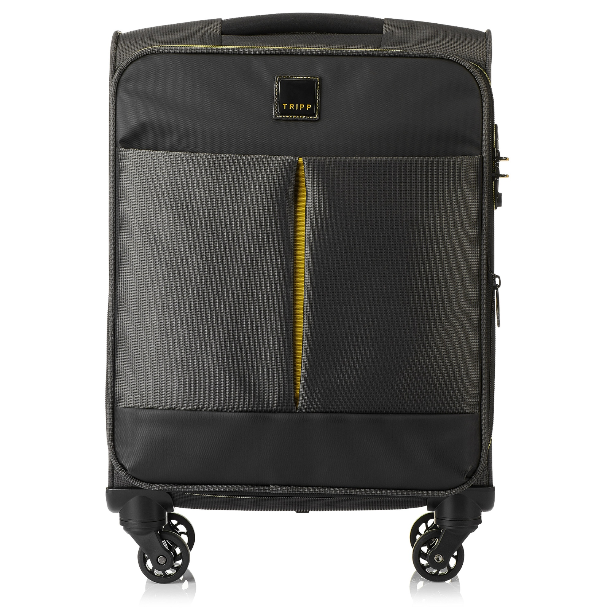 tripp graphite 39 style lite 39 cabin 4 wheel exp suitcase. Black Bedroom Furniture Sets. Home Design Ideas