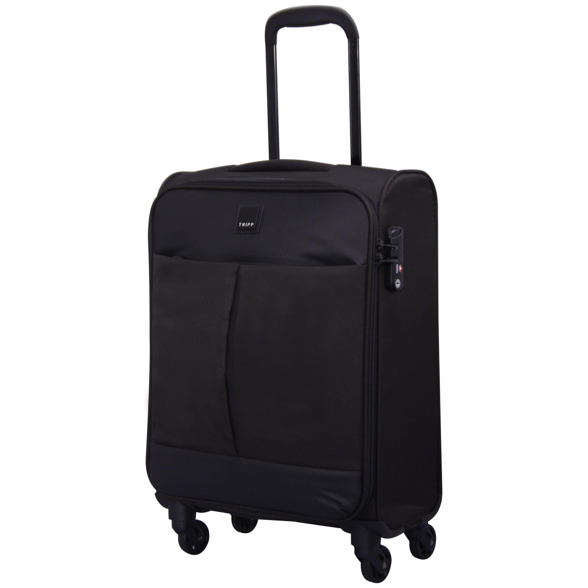 tripp black 39 style lite 39 cabin 4w exp suitcase soft. Black Bedroom Furniture Sets. Home Design Ideas