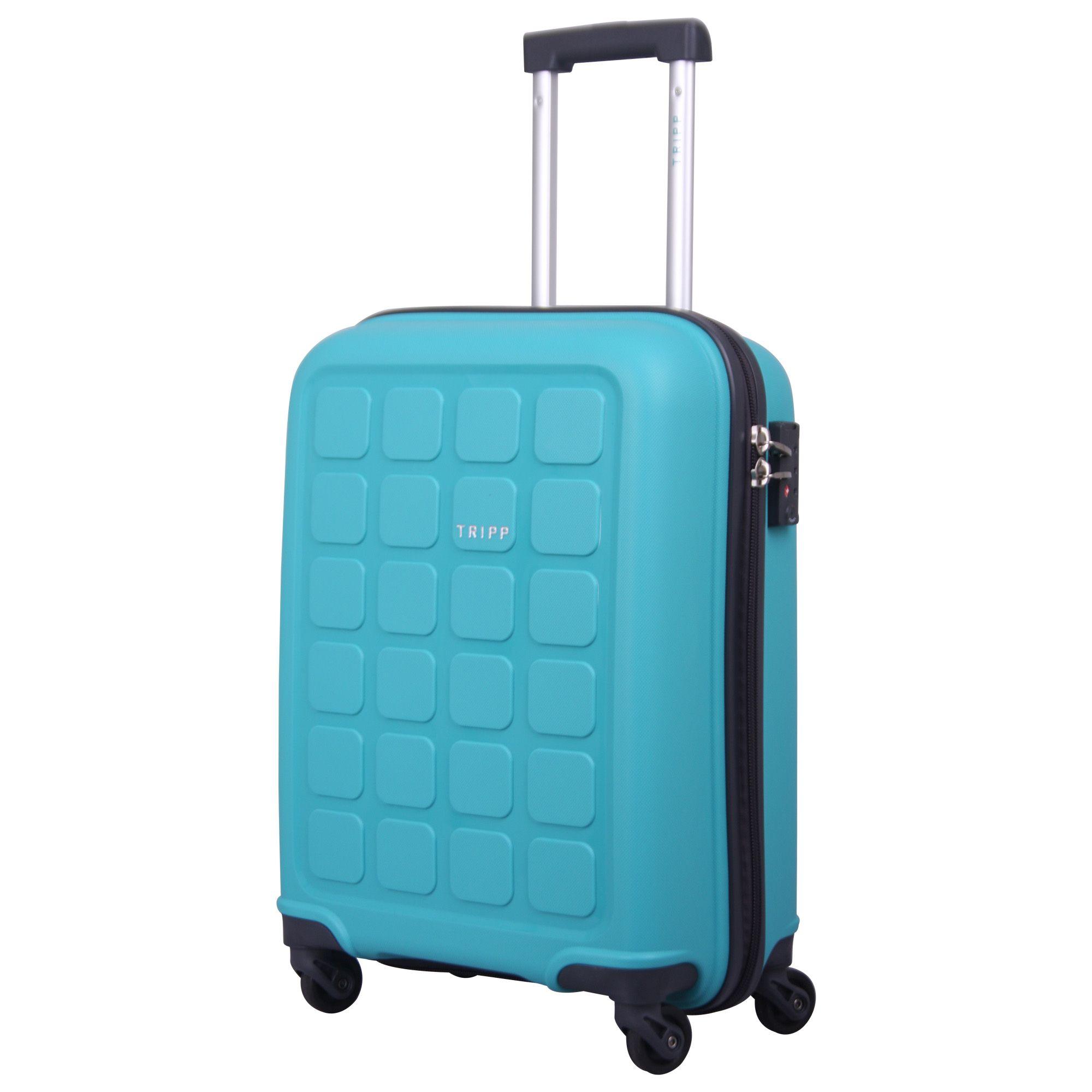 tripp mint 39 holiday 6 39 cabin 4 wheel suitcase hard. Black Bedroom Furniture Sets. Home Design Ideas