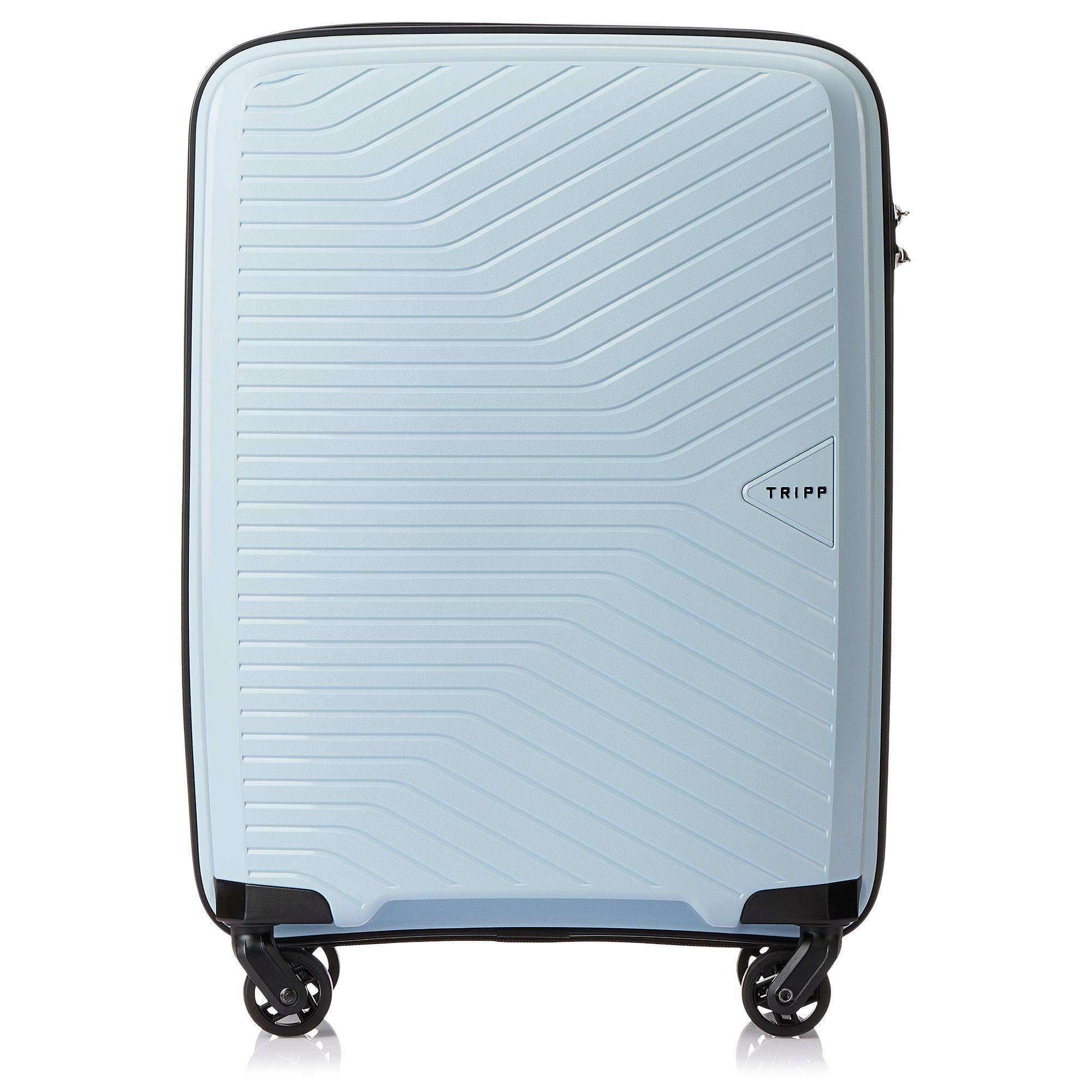 Tripp Ice Blue Chic Cabin 4 Wheel Suitcase Hard
