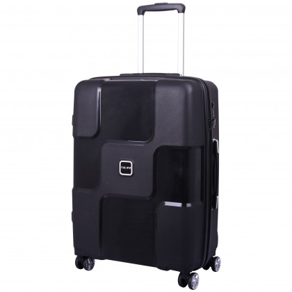Tripp World 4-Wheel Medium Suitcase Black