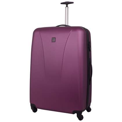 Tripp Lite 4-Wheel Large Suitcase Crimson