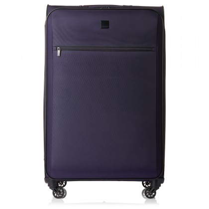 Tripp Full Circle 4-Wheel Large Suitcase Grape