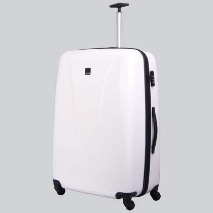 Tripp Chic 4-Wheel Large Suitcase White Gloss