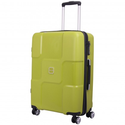 Tripp World 4-Wheel Medium Suitcase Chartreuse