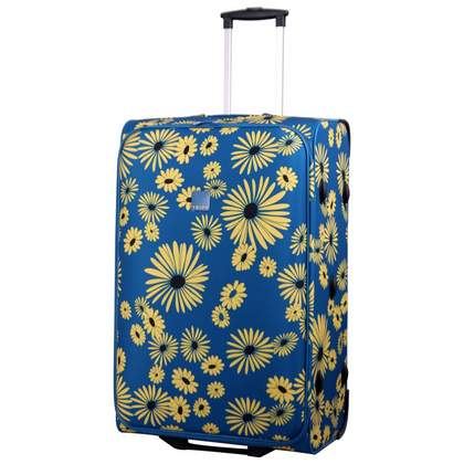 Tripp Daisy 2-Wheel large suitcase Turquoise/Yellow
