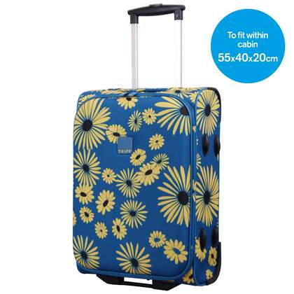 Tripp Daisy 2-Wheel Cabin suitcase Turquoise/Yellow