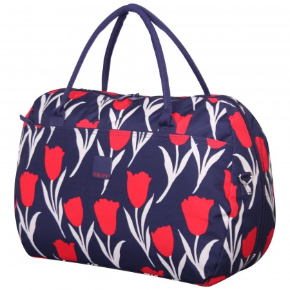 Tripp Tulip Large Holdall Navy/Red