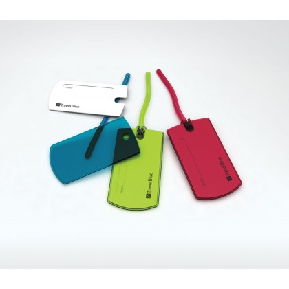 Travel Blue Luggage Tags