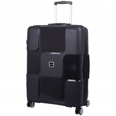 Tripp World 4-Wheel Large Suitcase Black