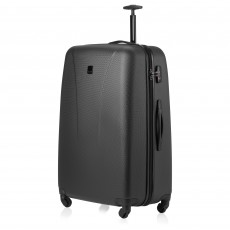 Tripp black 'Lite' 4-wheel large suitcase