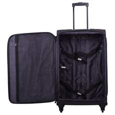 Tripp Full Circle 4-Wheel Large Suitcase Putty