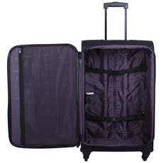Tripp Full Circle 4-Wheel Medium Suitcase Black