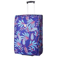 Tripp indigo/turq 'Express Fern' large 2 wheel suitcase