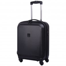 Tripp Lite 4-Wheel Dual Access Cabin Suitcase  Black