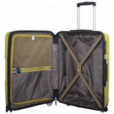 Tripp World 4-Wheel Cabin Suitcase Chartreuse