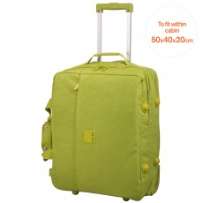Tripp Holiday Cabin Duffle Lime