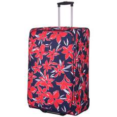 Tripp Flower Belle Large 2W Suitcase Navy/Red