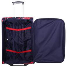 Tripp Flower Belle Medium 2W Suitcase Navy/Red