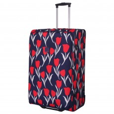 Tripp Tulip Large 2-Wheel suitcase Navy/Red