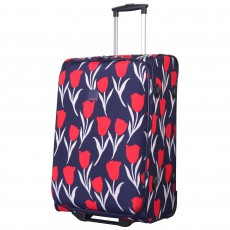 Tripp navy/red 'Express Tulip' medium 2 wheel suitcase