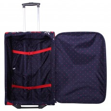 Tripp navy/red 'Express Tulip' cabin 2 wheel suitcase