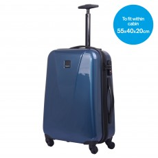 Tripp Chic Cabin 4-Wheel Suitcase Ocean Blue