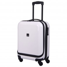 Tripp Chic 4-Wheel Dual Acess Cabin Case White Gloss