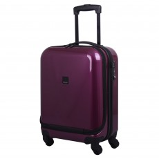 Tripp Chic 4-Wheel Dual Acess Cabin Suitcase Mulberry