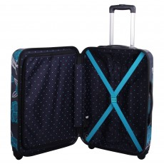 Tripp Bloom  Hard 4W Cabin Suitcase Navy/Turquoise