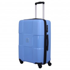 Tripp chambray 'World' 4 wheel large suitcase