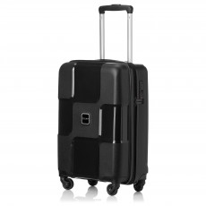 "Tripp black ""World"" II 4-Wheel cabin suitcase"